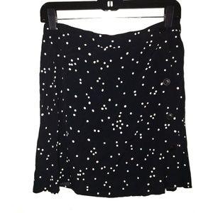 94a04843c6 H&M Skirts | Hm Black White Polka Dot Skirt Size 8 | Poshmark